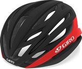 Giro Sporthelm - Unisex - zwart/rood 59,0-62, hoofdomtrek