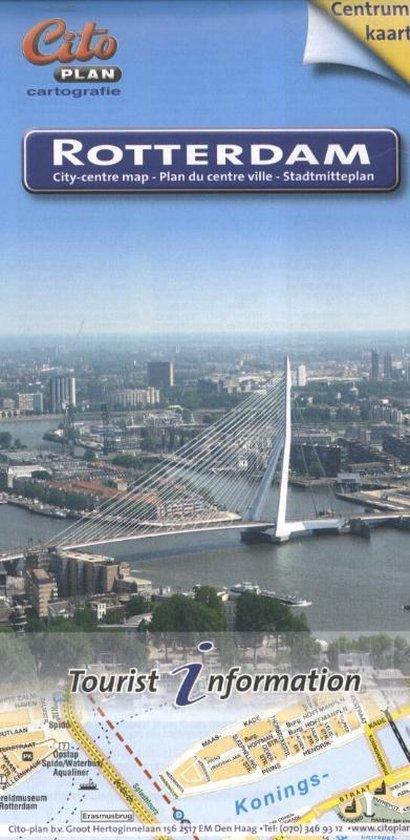 Citoplan centrumplattegrond Rotterdam - none |