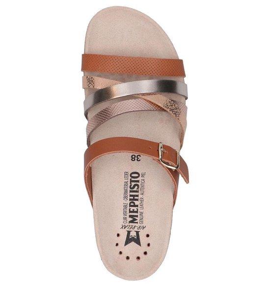 Mephisto Huleda Cognac Slippers Dames 35 TiQDS8