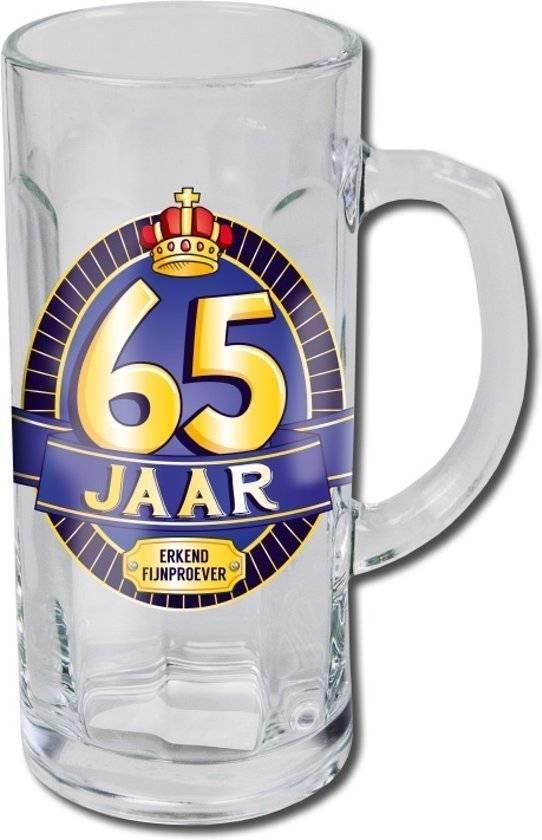 Bierglas - Bierpul - 65 Jaar