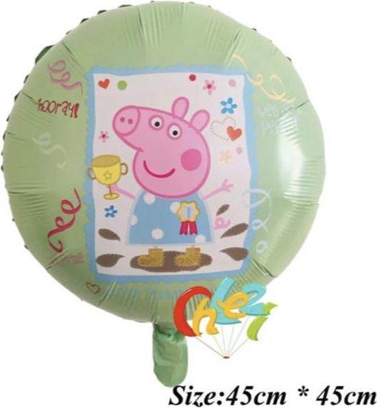 Peppa Pig Groen 18 Inch