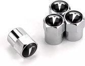 TT-products ventieldoppen aluminium Tesla 4 stuks