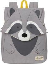 Sammies By Samsonite Kinderrugzak - Happy Sammies Eco Backpack S+ Raccoon Remy