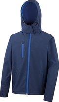 Men TX Performance Hooded Softshell Jacket  Navy XL