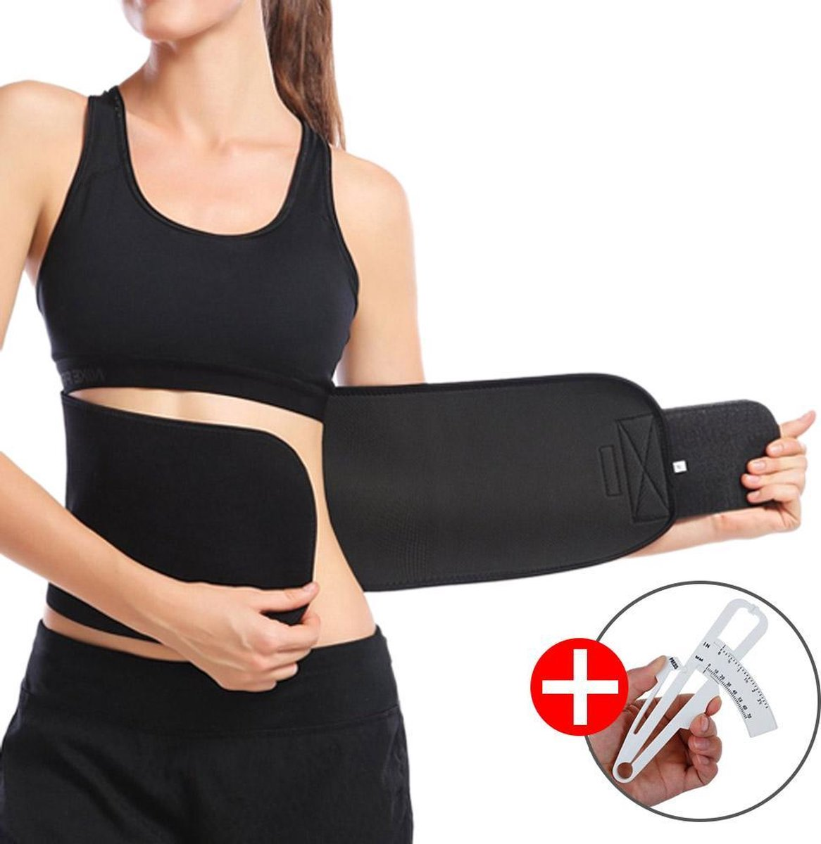 Goodlux sauna belt – Zweetband buik – Afslankband – Waist trainer