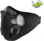Trainingsmasker (Mondmasker)   Zuurstof masker   Zwart