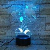 Hewec® Optische 3D illusie lamp Sonic