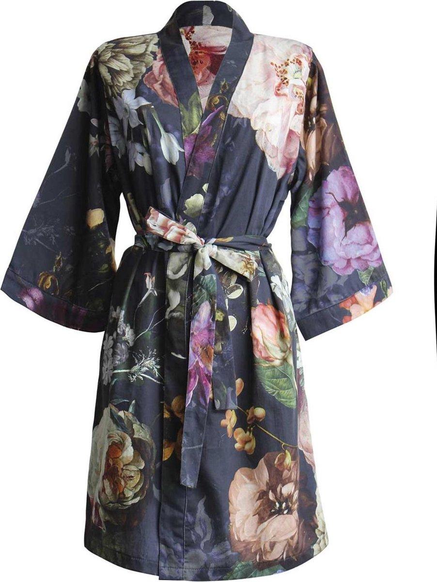 Essenza Dames Nachtmode kimono S - Night Blue