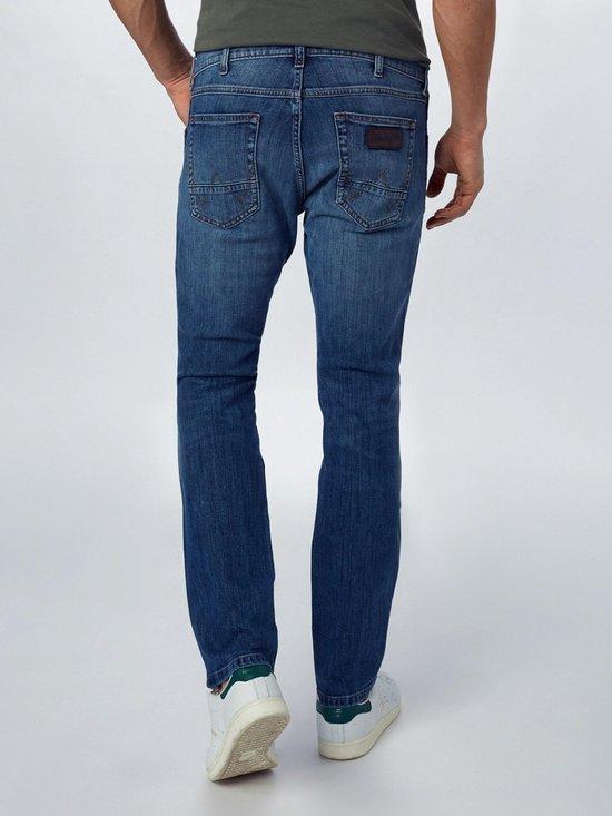 Wrangler Jeans Greensboro Blauw Denim-30-32