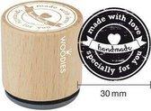 Houten Handstempel Woodies | Specially For You | Stempel laten maken | Stempel met uw afbeelding en tekst | Bestel nu!