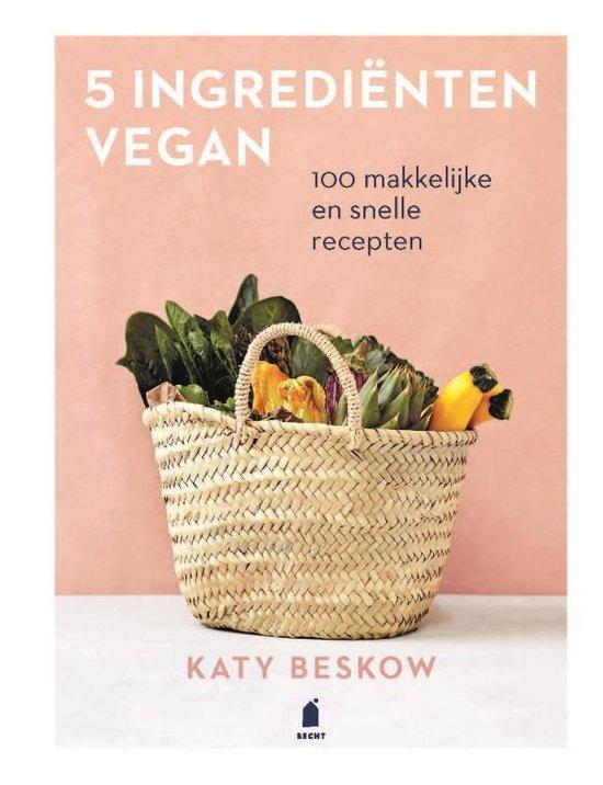 Boek cover 5 Ingrediënten vegan van Katy Beskow (Hardcover)