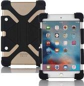 Siliconen Tablet Hoes voor 7 tot 8 inch Scherm - Universeel Hoesje Case Cover voor o.a. iPad Mini, Alcatel, Kurio Tab en meer - Zwart