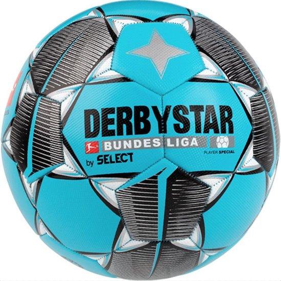 Derbystar Voetbal Bundesliga Player Special blauwgroen zwart grijs maat 5