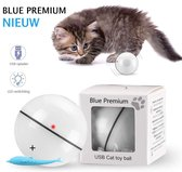 Magic Roller Ball – Kattenspeeltjes – Interactieve Kattenbal Met LED Laser – USB Oplaadbaar – Speelgoed Voor Kitten – Automatisch Rollende Bal