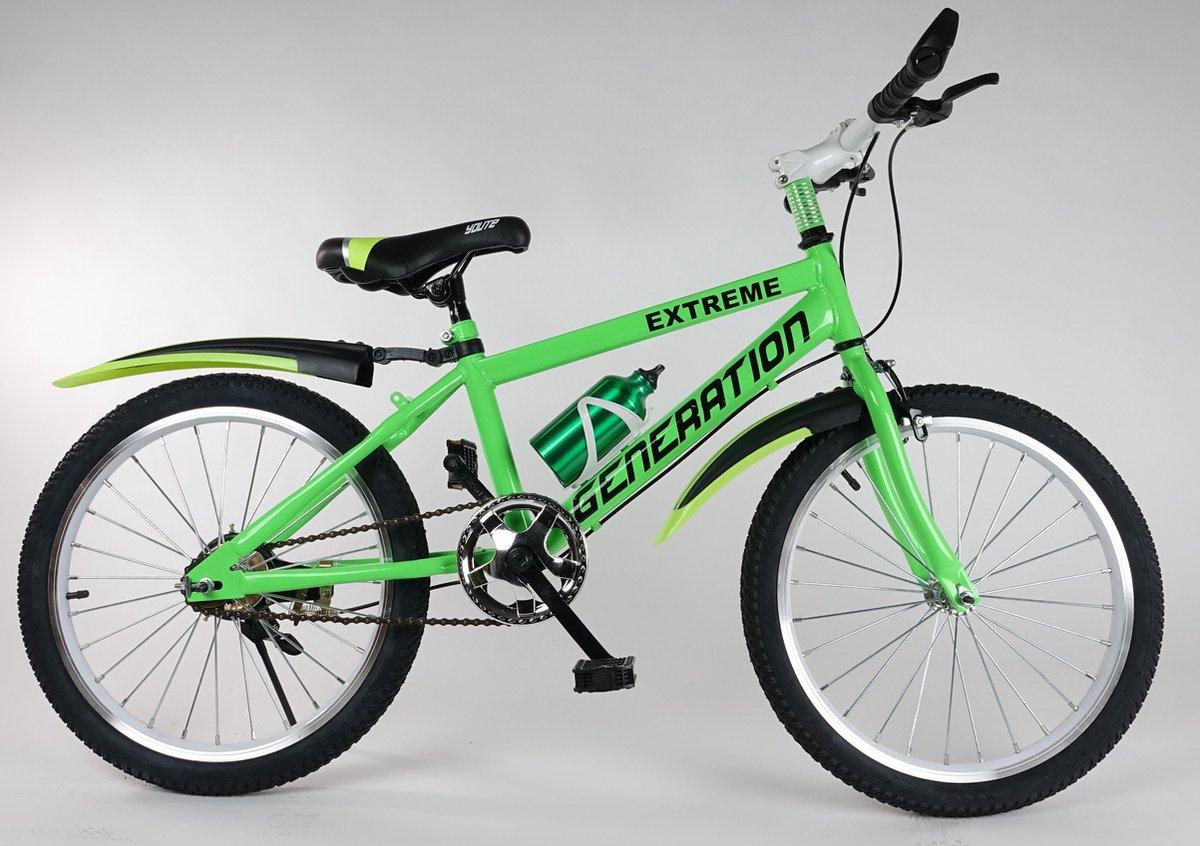 """Generation Extreme fiets 20"""" Groen"""