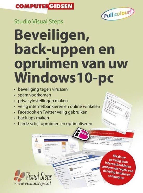 Beveiligen, back-uppen en opruimen van uw Windows 10-pc - Studio Visual Steps  