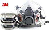 Gasmasker 3M beveiligings schilder masker 3 in 1 s