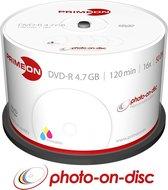 Primeon 2761206 lege dvd 4,7 GB DVD-R 50 stuk(s)