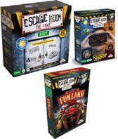 Mega Escape Room Spelvoordeelset inclusief Escape Room Basisspel & Identity Games Escape Room - The Game Virtual Reality & Uitbreidingsset Escape Room The Game Welcome to Funland