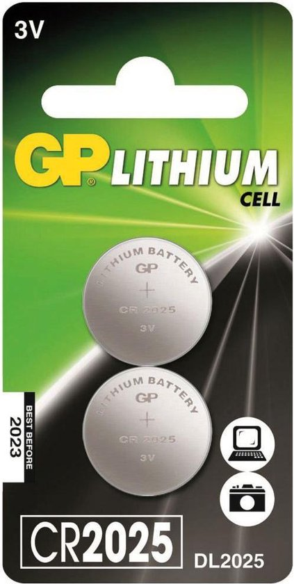 GP Batteries Lithium Cell CR2025 Single-use battery 3 V