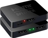 DrPhone – 4K HDMI Splitter – 1 in 2 out – Compatible met HDMI / USB / 4K TV / 3D / PS4 / XBOX