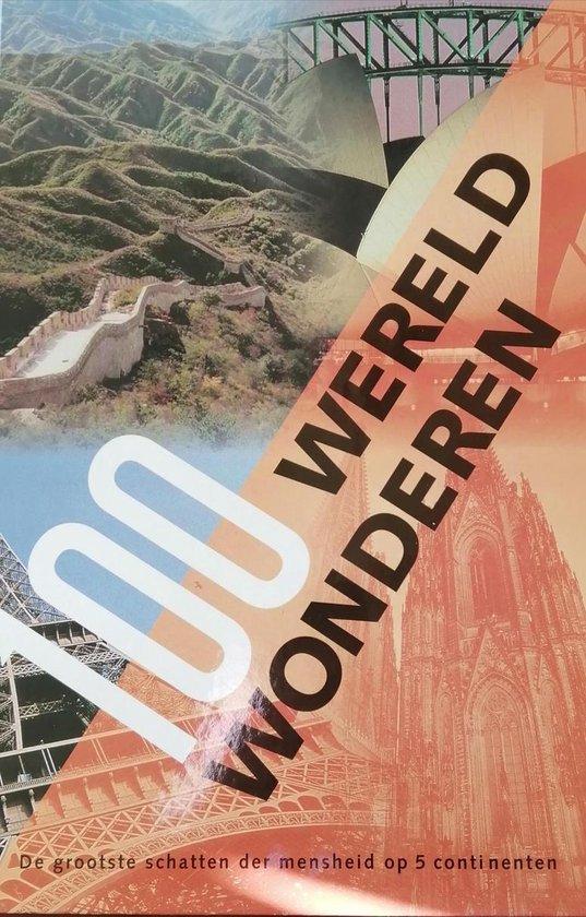 Cover van het boek '100 wereld wonderen'