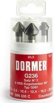 Verzinkborenset Dormer G236