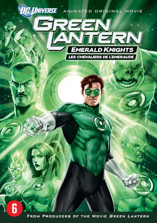 Cover van de film 'Green Lantern - Emerald Knights'