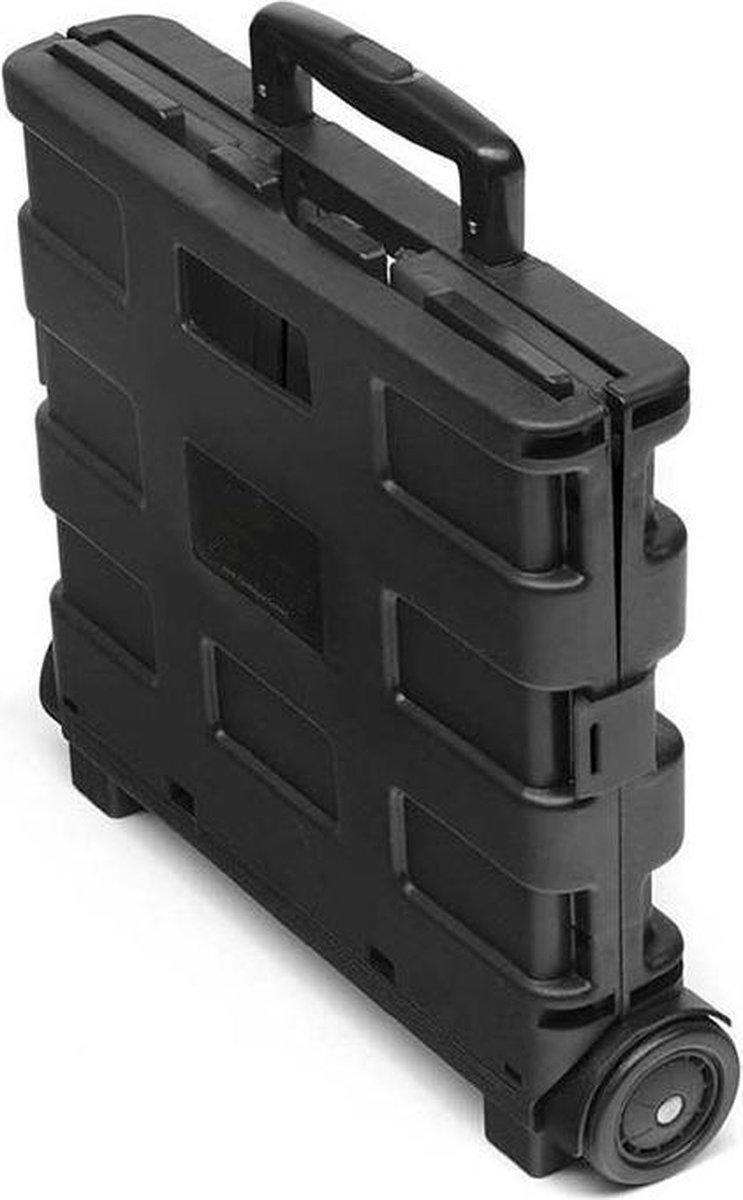 Boodschappentrolley - Boodschappentassen - inklapbare trolley - boodschappentrolley 2 wielen -Boodsc