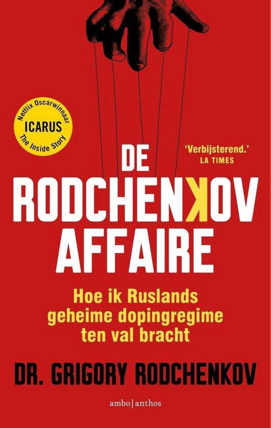 Boek cover De Rodchenkov-affaire van Grigory Rodchenkov (Onbekend)