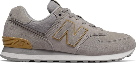 bol.com | New Balance ML574 D Heren Sneakers - Grey - Maat 42.5