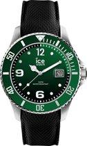 Ice-Watch Ice Steel IW015769 Horloge - Siliconen - Zwart - Ø 40 mm