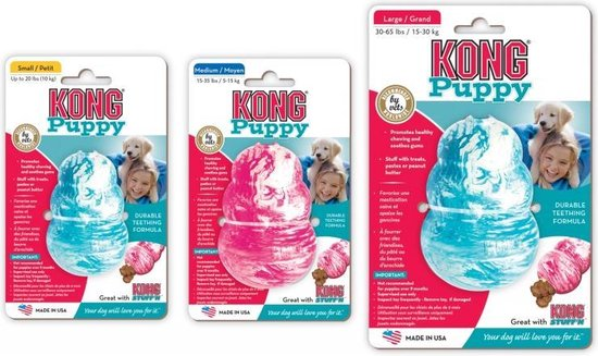 KONG - Puppy - Hondenspeelgoed - Assorti - M