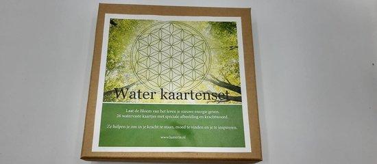 Lumeria energie kaarten 5 - Bloem van het leven waterkaarten - Klaske Goedhart |