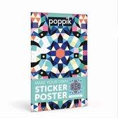 Sticker poster creatief  - [POPPIK] Mandala - vanaf 9 jaar