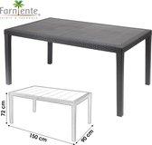 Farniente - Tuintafel Queensize 150 x 90 x 72cm - Urban Living Eettafel