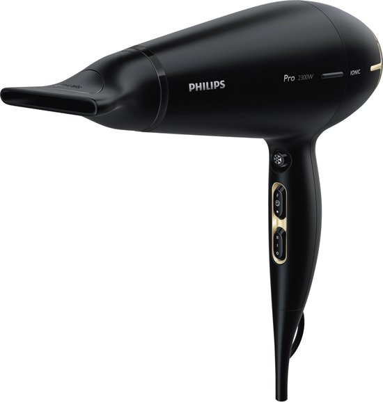 Philips Pro Dryer HPS920/00 - Föhn - Zwart