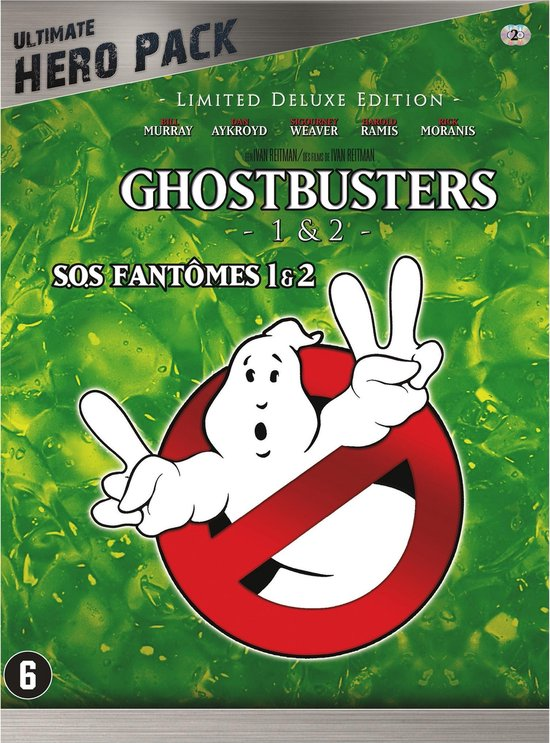 GHOSTBUSTERS 1 & 2 (HERO BOXSET)