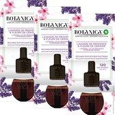Botanica by Air Wick Elektrische Geurverspreider - Lavendel uit de Provence & Kersenbloesem Navulling - 3 Stuks - Voordeelverpakking