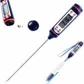Trendfield Digitale Vleesthermometer - Suikerthermometer - Kookthermometer BBQ - Keukenthermometer tot 300 Graden Celsius