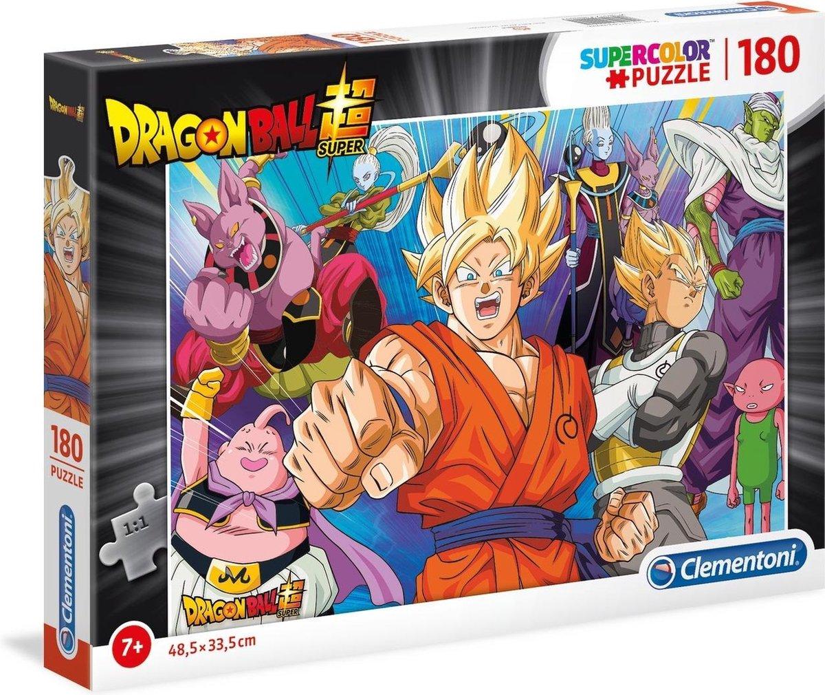 Clementoni Legpuzzel Dragon Ball Super - 180 Stukjes