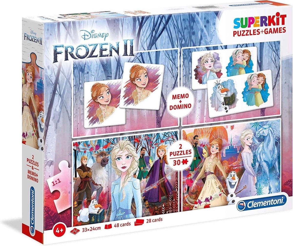 Clementoni 4-in-1 Puzzels Disney Frozen 2 - 2x30 Stukjes