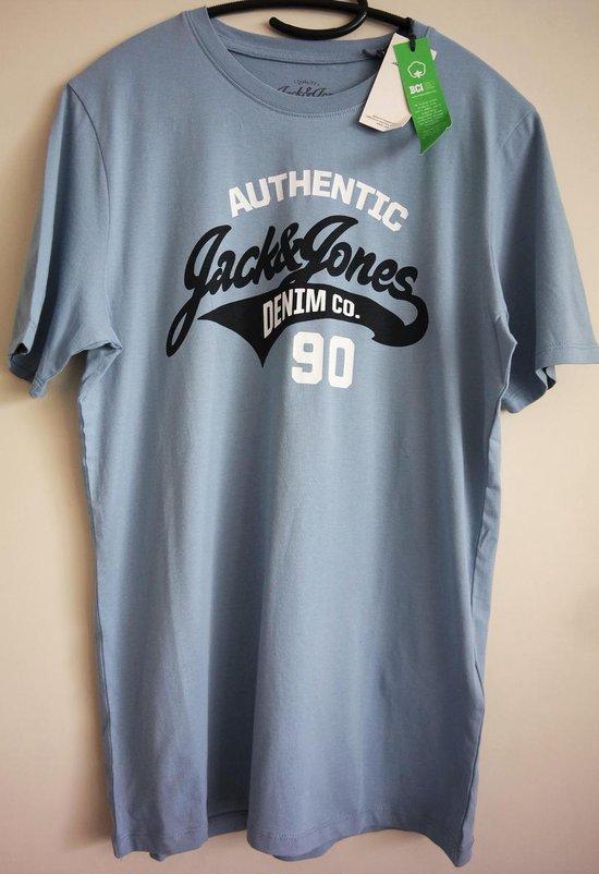 Jack & Jones Blauw Tshirt - Maat S
