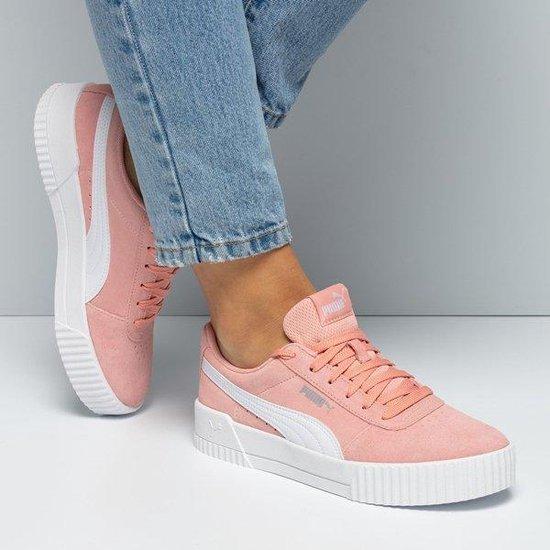 bol.com | Puma Tennis Carina sneakers roze - Maat 39