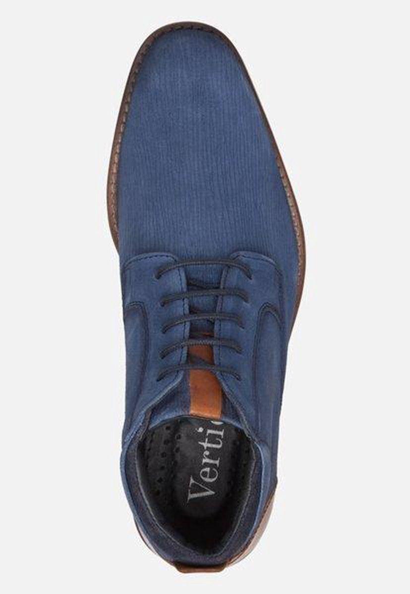 Vertice Veterboots blauw - Maat 43 Laarzen