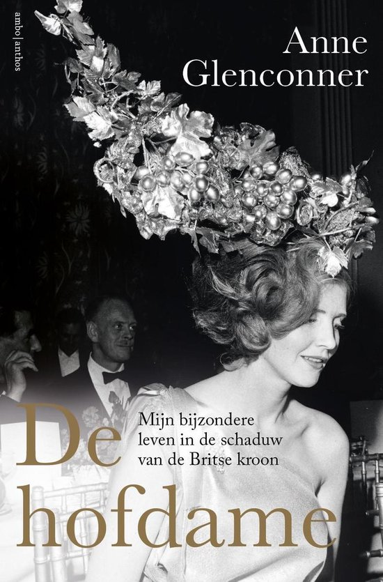 Boek cover De hofdame van Anne Glenconner (Paperback)
