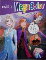 Disney's Frozen 2 Kleurboek +/- 120 kleurplaten + Stickers (Sisters)