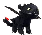 How to train your Dragon knuffel - Tandloos - Glow in the Dark - 35 cm