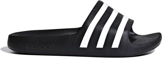 adidas Adilette Aqua K Kinderen Slippers - Core Black/Ftwr White - Maat 38