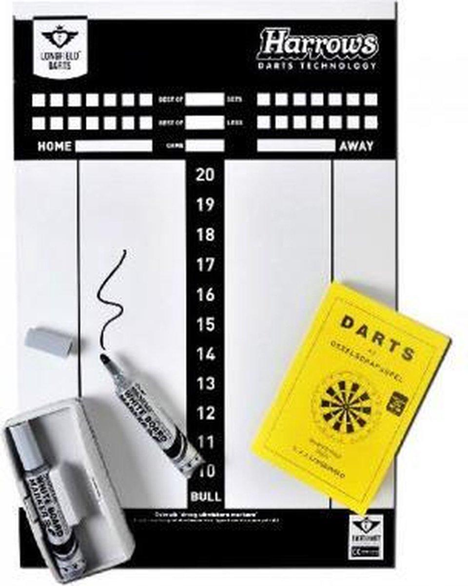 Longfield Games Darts Scorebord Met Stift En Spelregels